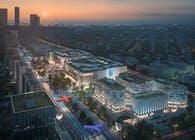 10 Design releases new plans for a transport-oriented retail destination in Nanjing