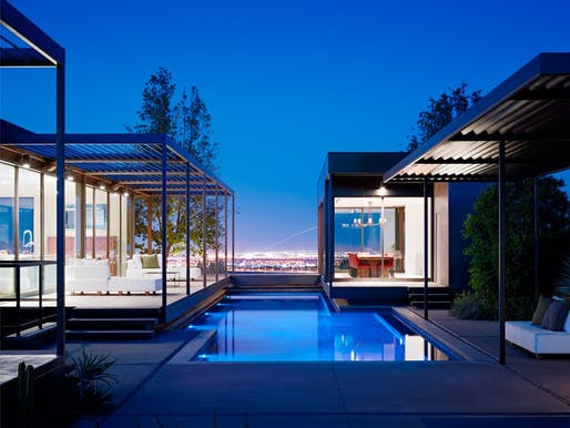 Las Vegas Residence by Marmol Radziner, located in Las Vegas, NV. Image: Joe Fletcher.