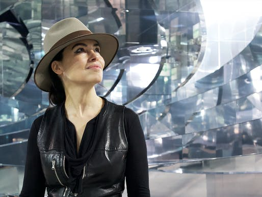 Es Devlin, artistic director of the 2020 London Design Biennale.