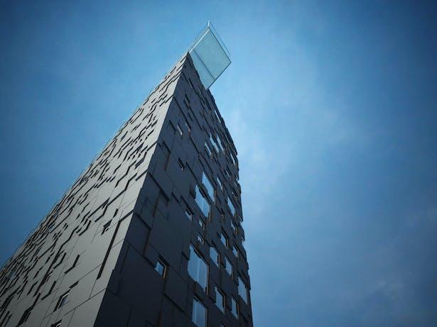 Exterior rendering. Copyright © Placebo FX/Dark Arkitekter