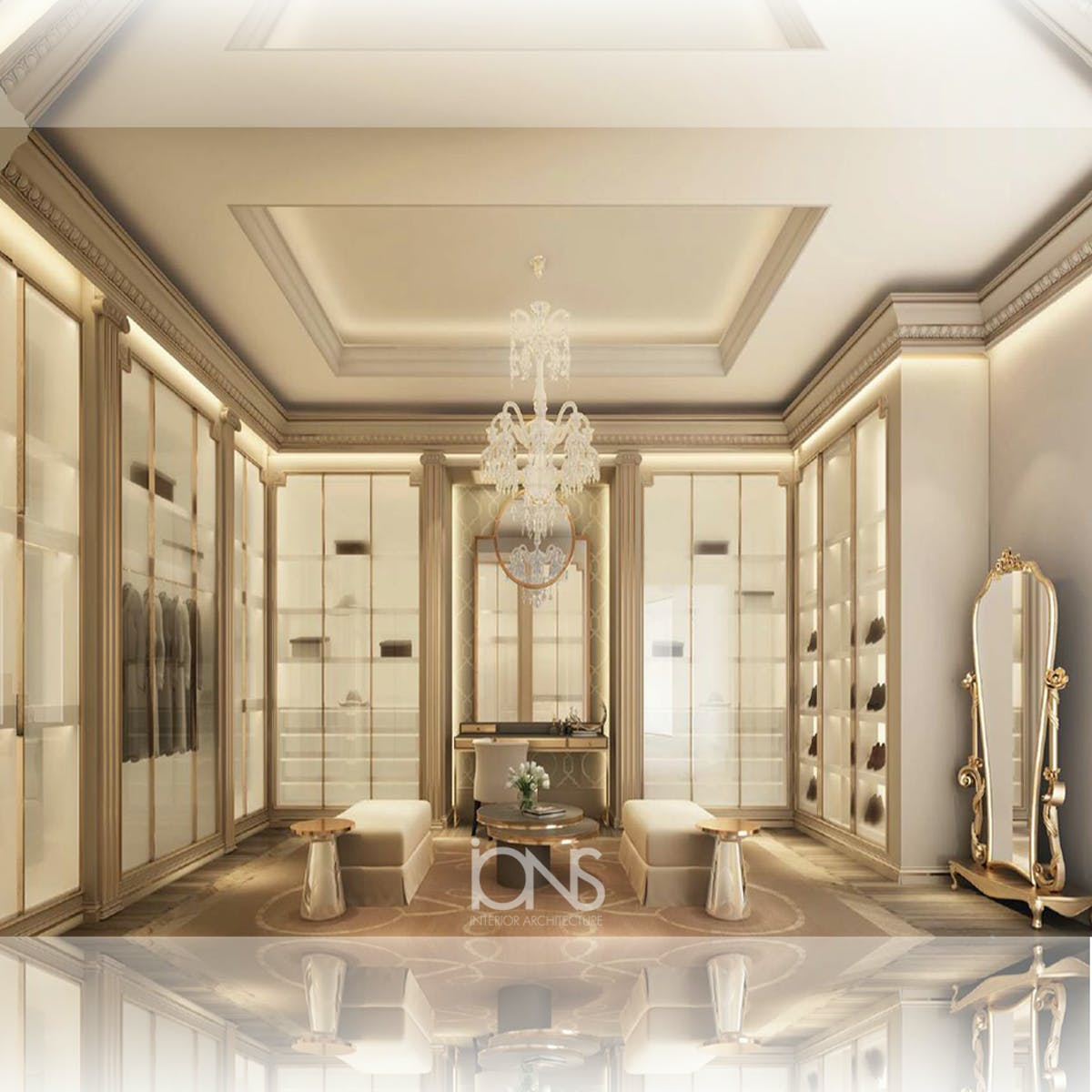 Ions Interior Design Dubai exceptional walk-in closet interiors | ions design | archinect