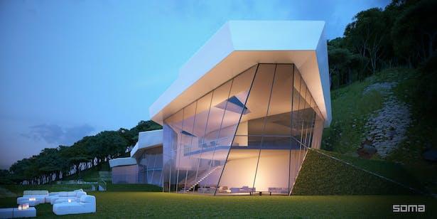 Michel Abboud Design for Manoukian House