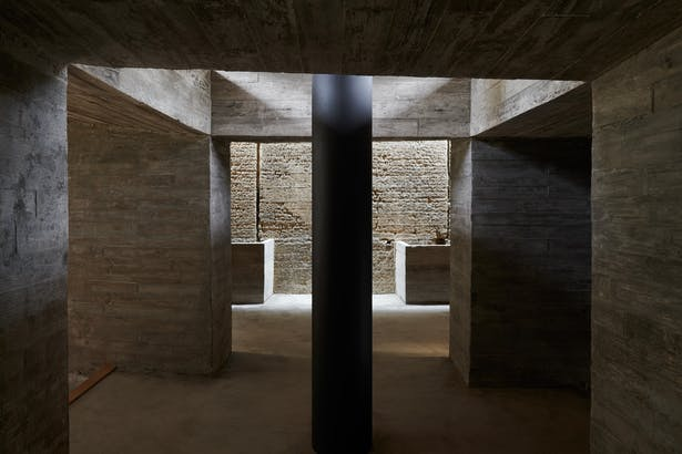 Second floor central space ©CHEN Hao
