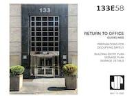 133 E 58 St. Return to Office Plan