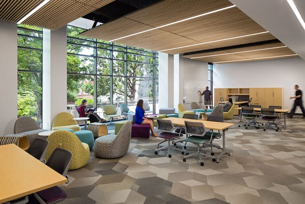 Quackenbush shares student union design expertise - Interior design schools in south carolina ...