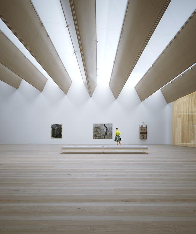 Interior rendering.