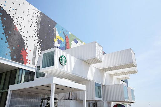 Related on Archinect: Kengo Kuma recycles 29 shipping containers for this new Starbucks store