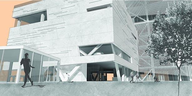 Ground Level - Plaza