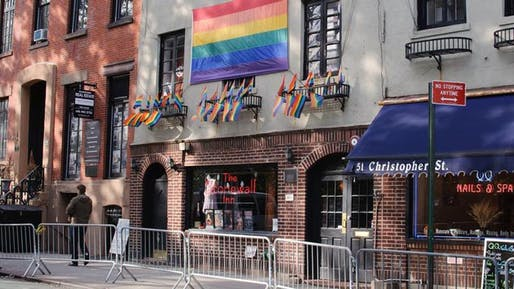 President Obama recently named New York City's Stonewall Inn a national monument, for its role in the gay rights movement. Image via movoto.com.