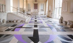 Bryony Roberts Studio riffs on the geometries of the original gallery flooring for 2018 League Prize Exhibition