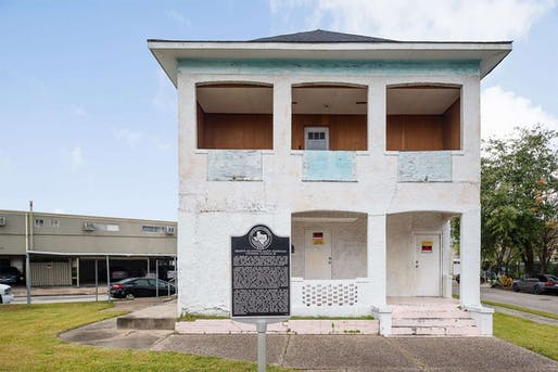 The historic Council 60 Clubhouse of the League of United Latin American Citizens in Houston wasn't declared a National Treasure until 2018. Photo: Dee Zunker/National Trust for Historic Preservation.
