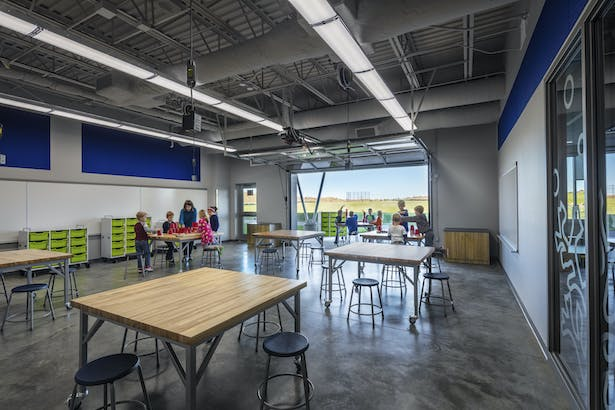 Token Springs Elementary Classroom with outdoor access C&N Photography