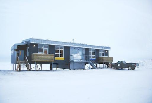 Nunavik pilot duplex houses case study. Image: EVOQ Architecture.