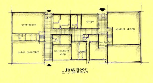 One of my first sketches for the OTC in Queens and Brooklyn