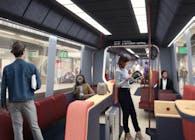 RET Metro Interior