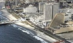 Atlantic City boardwalk collapse as Hurricane Sandy slams coast