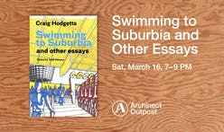 Archinect Outpost to host Swimming to Suburbia, Craig Hodgetts' book of essays