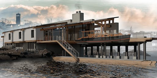 1st Place: Lubec Narrows, Student: Joseph Leaming, Faculty Sponsor: Frederick Biehle, Pratt Institute