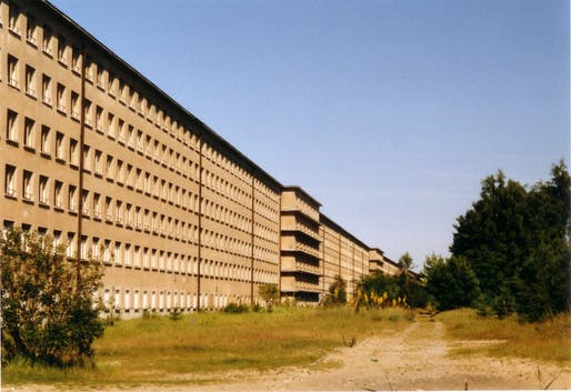 The 2.8 mile-long Colossus of Prora. Photo: Steffen Löwe, via Wikipedia