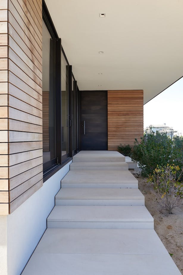 House On The Point Entry Detail