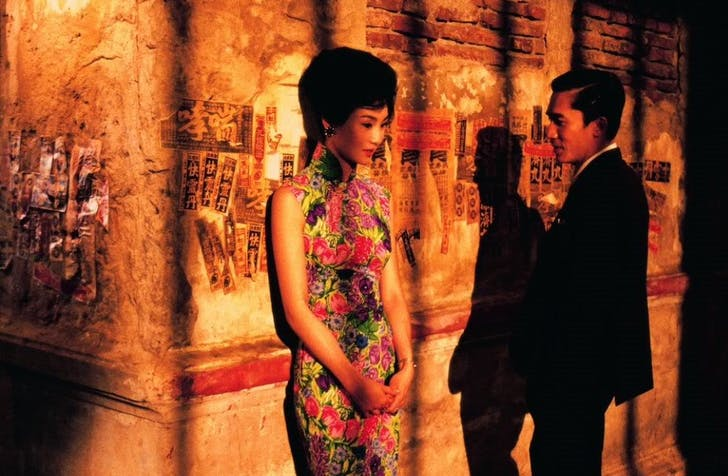 Screenshot from 'In the Mood for Love', credit Julia Ingalls.