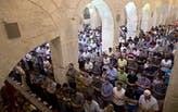 Fire quickly put out in Jerusalem's treasured Al-Aqsa Mosque, no damage reported