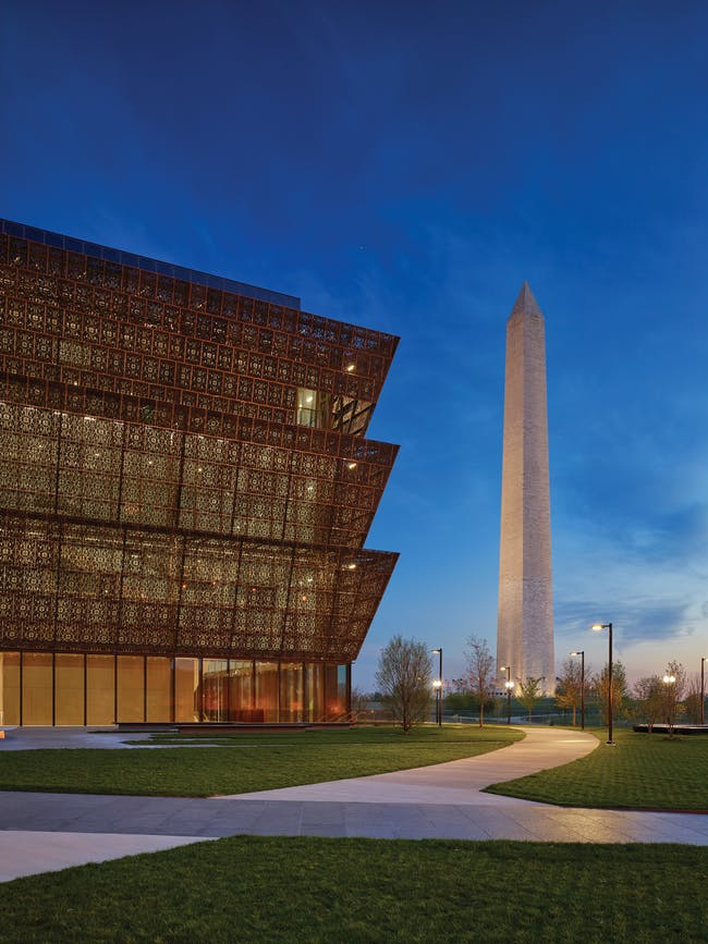 Smithsonian National Museum of African American History & Culture. (Photo: Alan Karchmer, courtesy of Adjaye Associates)