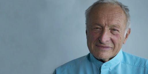 Richard Rogers. Image courtesy of AIA.