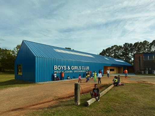 Rural Studio - Boys & Girls Club, West Alabama, Greensboro. Photo © Timothy Hursley.