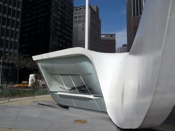 New Amsterdam Pavilion (Image: N. Stanton)
