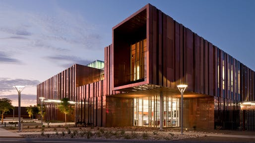 South Mountain Community Library by richärd+bauer architecture, located in Phoenix, AZ. Image: richärd+bauer architecture.