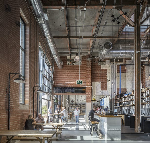 Taproom, Junction Craft Brewing (Photo: Steven Evans Photography)