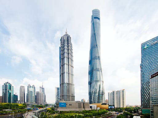Best Tall Building - Asia & Australasia: Shanghai Tower, Shanghai. Photo © Connie Zhou