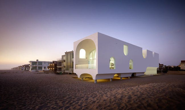 The Vault House in Oxnard. Credit: Johnston Marklee