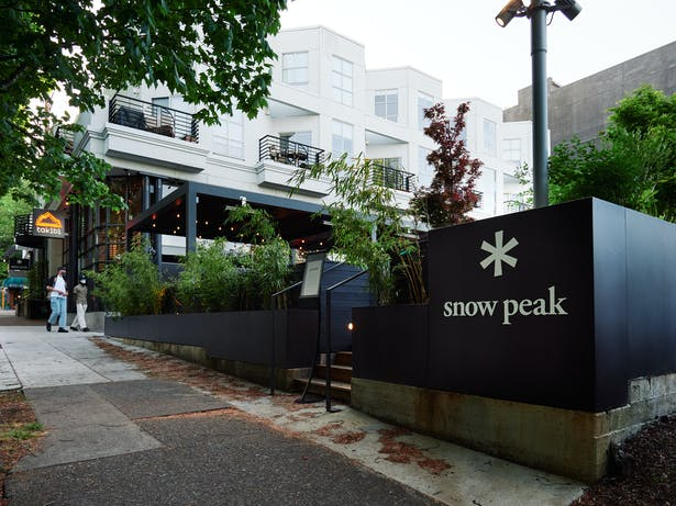 Takibi at Snow Peak USA Flagship and Headquarters (Photo: AJ Meeker)