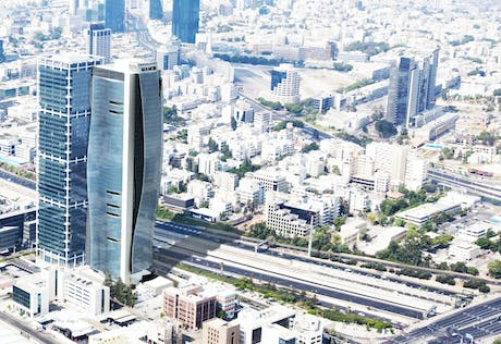 Mixed-Use Tower in Tel-Aviv
