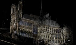 Notre Dame Cathedral's restoration is imagined through digital scans by architectural historian Andrew Tallon
