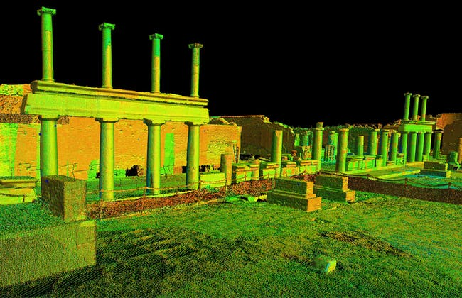 Pompeii: one of the 500 digitally preserved cultural sites. Image courtesy of CyArk.