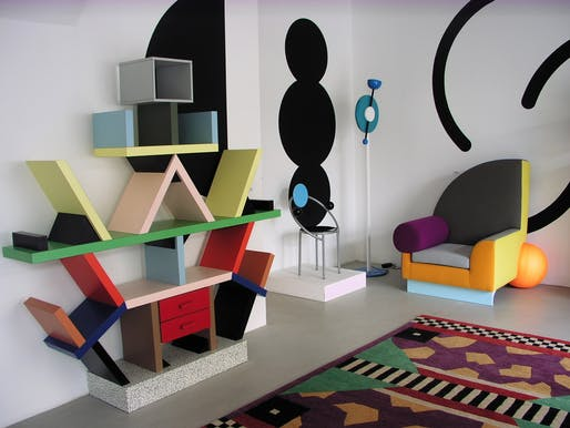 """Carlton"" room divider from 1981 by Ettore Sottsass, from the Memphis Milano collection. Image via Handout."