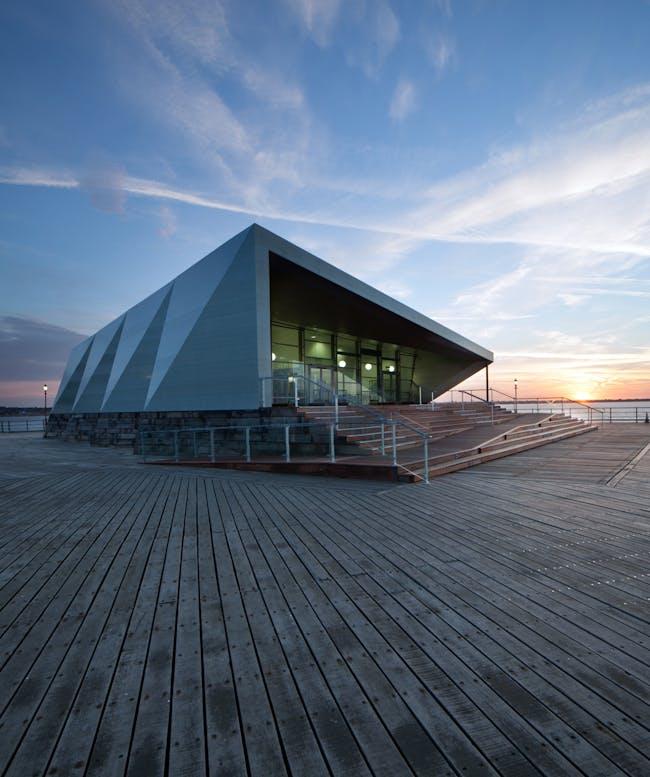 Royal Pavilion in Southend-on-Sea, UK by White Arkitekter A/S; Photo: Luke Hayes