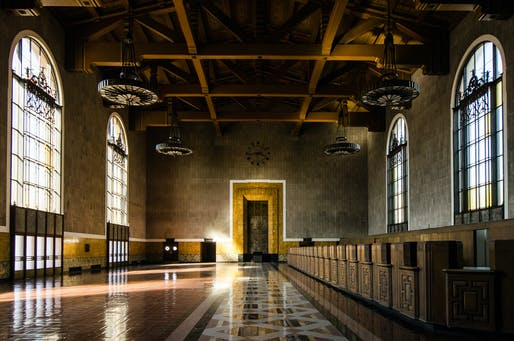 The old ticket room at the L.A. Union Station. Photo: Steve and Julie/Flickr