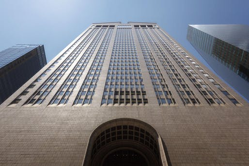 550 Madison Avenue designed by Philip Johnson. Photo: Oetker Collection.