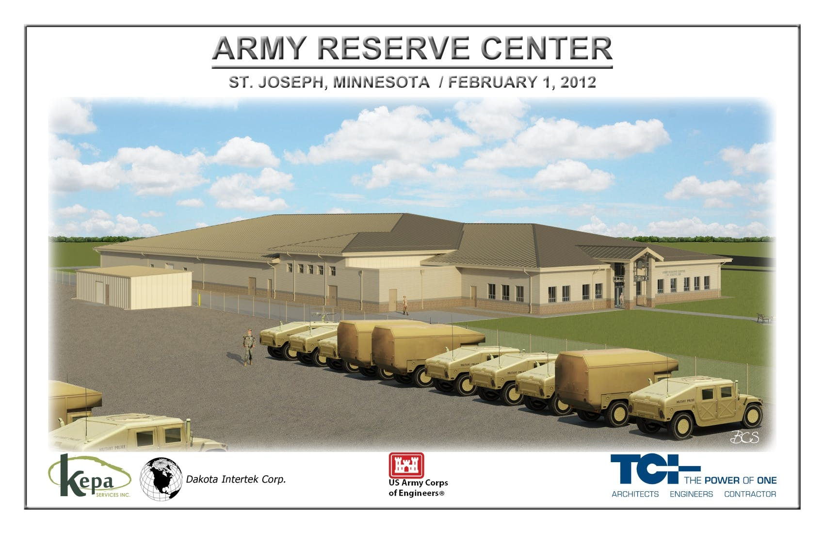 Army Reserve Center St Joseph Mn Ben Schwarz Archinect