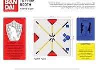 Ban Dai Toy Fair Booth