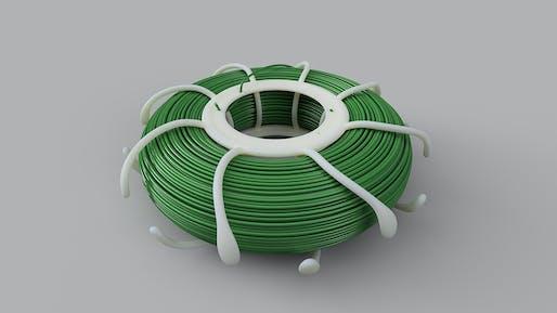 Best Professional Use of Autodesk Fusion 360: LOOP Supply Medusa Spool by Bartłomiej Gaczorek, Custom Shapes, Poland