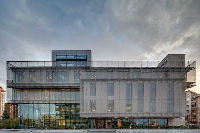 Turkish Contractors Association Headquarters, AVCI Architects, Ankara, Turkey, LEED PLATINUM