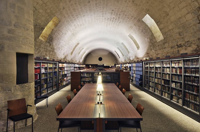 Saint Corneille Library in Compiègne, France by Architecture Patrick Mauger