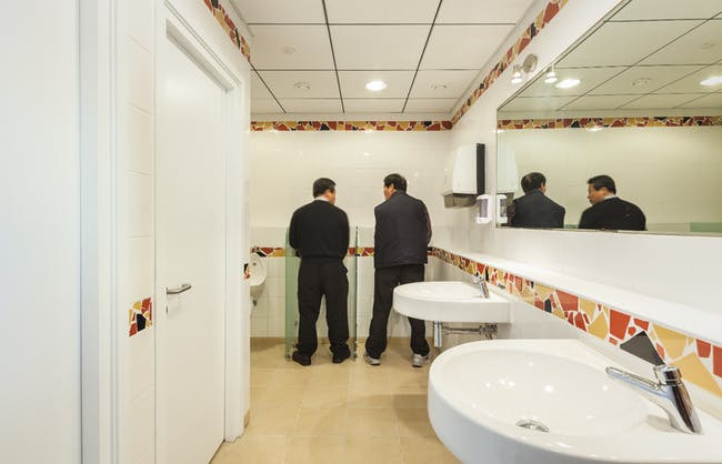 Superflex's 'Power Toilets', designed in close collaboration with NEZU AYMO architects. Image credit Kyungsub Shin.