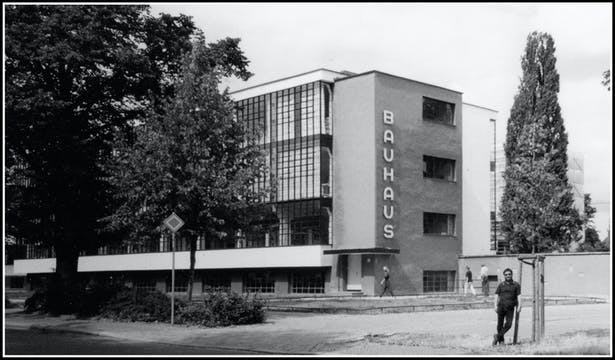 One of my projects was to visit the Bauhaus