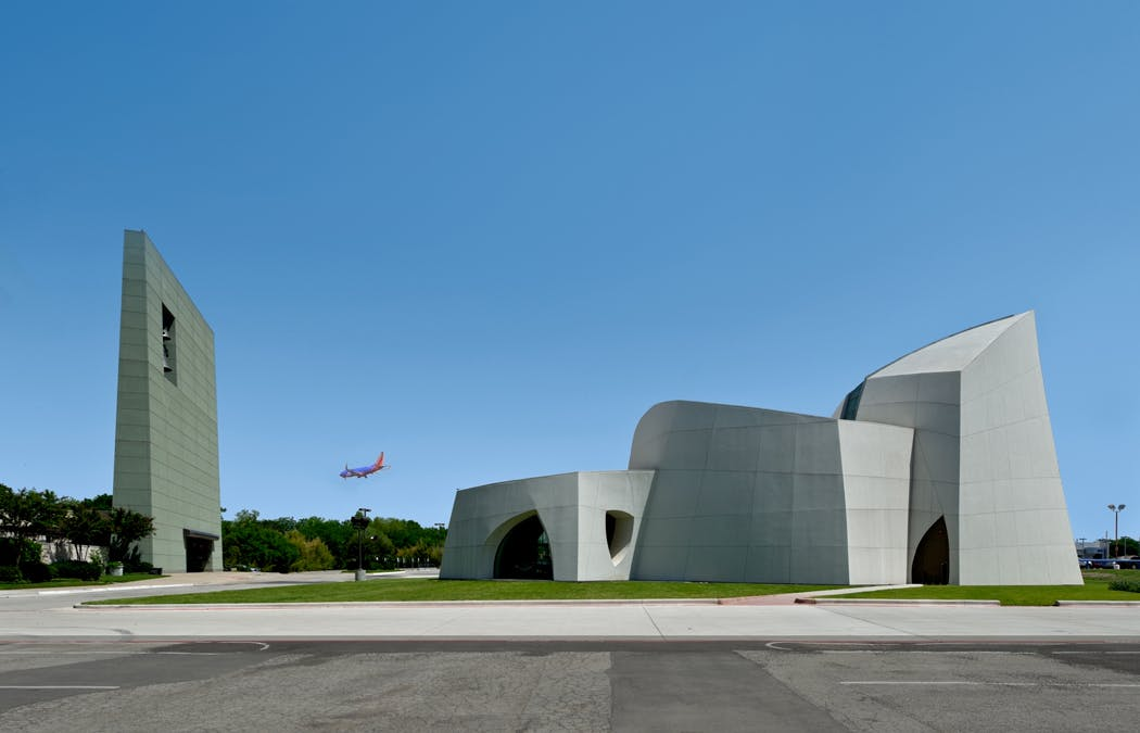 Texas Auto Connection >> Cathedral of Hope Interfaith Peace Chapel | Cunningham Architects | Archinect
